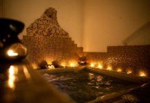 Gli ambienti interni di un hammam sono luoghi di intimo relax