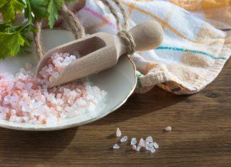 benefici del sale rosa