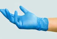 guanto da chirurgo